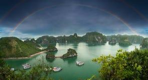 Красивое море в заливе Ha длинном стоковая фотография