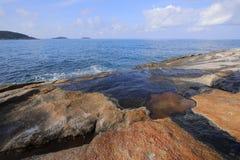 Красивое море в острове Пхукета Стоковое Изображение