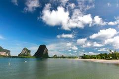 Красивое море в Таиланде Стоковое Изображение
