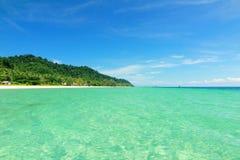 Красивое море в Таиланде Стоковое Изображение RF