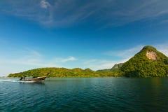 Красивое море в Таиланде Стоковое фото RF