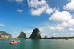Красивое море в Таиланде Стоковая Фотография