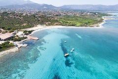 Красивое море Сардинии Стоковые Изображения