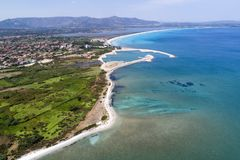 Красивое море Сардинии Стоковое фото RF