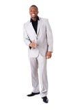 Красивое мужское положение бизнесмена. Стоковое Изображение RF