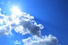 Красивое небо Стоковое Изображение RF