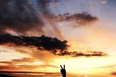 Красивое небо Стоковые Изображения RF