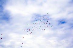 Красивое небо Стоковое фото RF