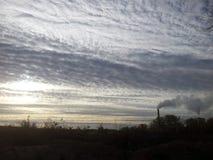 Красивое небо Стоковые Фотографии RF