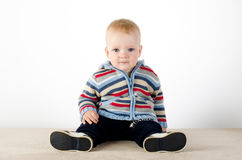 Красивое невиновное newborn Стоковое фото RF