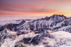 Красивое дневное время в Tatras стоковое изображение rf