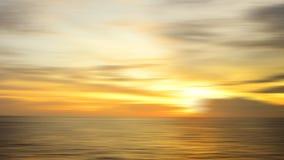 Красивое образование неба должное к влиянию долгой выдержки на isla mabul Стоковое Фото