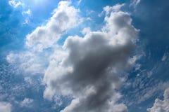 Красивое облака ` s искусства Стоковые Изображения