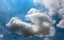 Красивое облака ` s искусства Стоковое Изображение