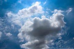 Красивое облака ` s искусства Стоковые Изображения RF