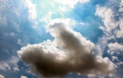 Красивое облака ` s искусства Стоковая Фотография