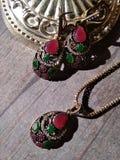 Красивое ожерелье стоковая фотография rf