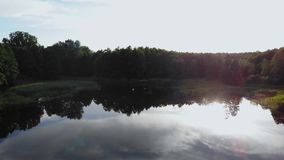 Красивое озеро! видеоматериал