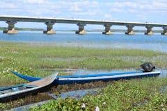 Красивое озеро в северном Таиланде Стоковое фото RF