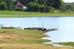 Красивое озеро в северном Таиланде Стоковые Фотографии RF