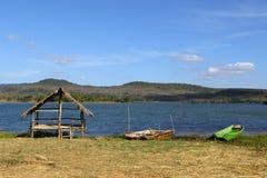 Красивое озеро в северном Таиланде Стоковое Изображение RF