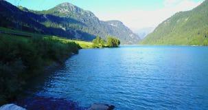 Красивое озеро в Швейцарии акции видеоматериалы