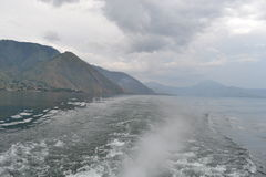 Красивое озеро Индонезия Toba Стоковая Фотография