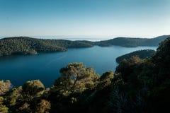 Красивое озеро озера в Хорватии Стоковое Фото