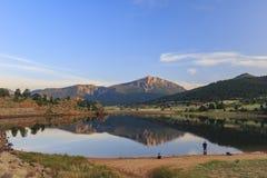 Красивое озеро Marys национального парка скалистой горы Стоковая Фотография RF