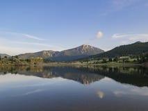 Красивое озеро Marys национального парка скалистой горы Стоковые Фотографии RF