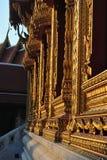 Красивое окно в виске Wat Samien Nari в Бангкоке Таиланде Стоковая Фотография