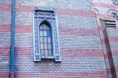 Красивое окно на церков Стоковые Изображения RF