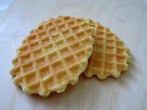 Красивое печенье waffle Стоковое Фото