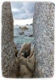 Красивое побережье Стоковая Фотография RF