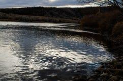 Красивое река страны утра Вайоминга Стоковые Изображения
