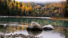 Красивое река kanas Стоковое Изображение RF