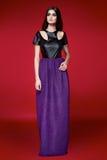 Красивое сексуальное платье женщины одевает каталог собрания Стоковое Изображение RF