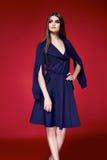 Красивое сексуальное платье женщины одевает каталог собрания Стоковые Изображения