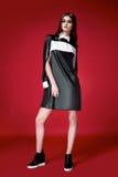 Красивое сексуальное платье женщины одевает каталог собрания Стоковое фото RF