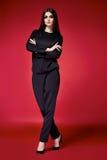 Красивое сексуальное платье женщины одевает каталог собрания Стоковые Фотографии RF