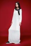 Красивое сексуальное платье женщины одевает каталог собрания Стоковая Фотография