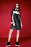 Красивое сексуальное платье женщины одевает каталог собрания Стоковые Фото