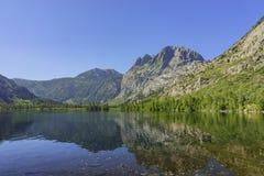 Красивое серебряное озеро Стоковое Изображение RF