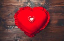 Красивое сердце пряника Стоковые Фотографии RF