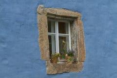 Красивое старое окно Стоковое Фото