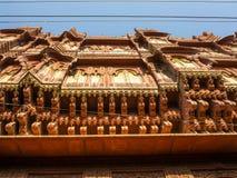 Красивое старое haveli в Bikaner стоковое изображение