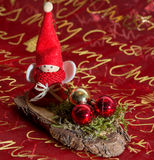 Красивое украшение ангела рождества Стоковая Фотография RF