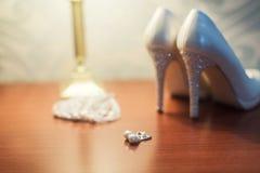 Красивое украшение ботинок Стоковое фото RF