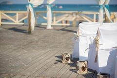 Красивое украшение свадьбы для восхитительной свадьбы стоковое фото