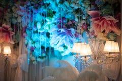 Красивое украшение свадьбы стоковое изображение rf